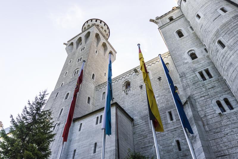 Castillo de Neuschwanstein, Alemania foto de archivo libre de regalías
