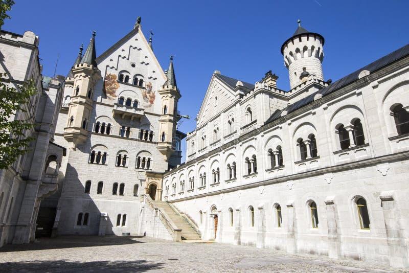 Castillo de Neuschwanstein, Alemania fotos de archivo