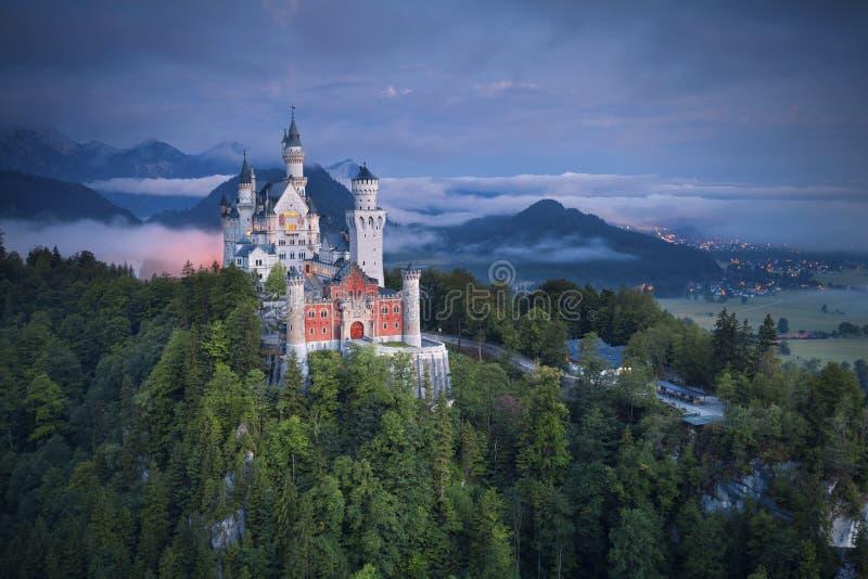 Castillo de Neuschwanstein, Alemania fotografía de archivo libre de regalías