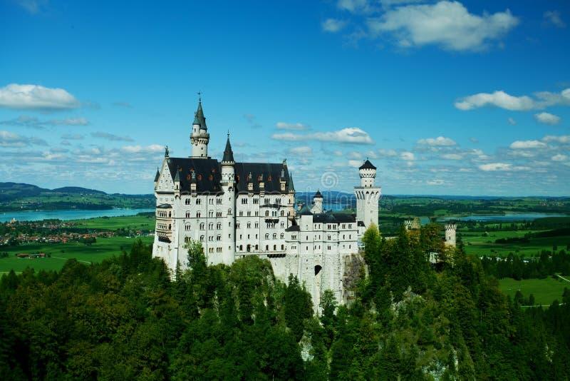 Castillo de Neuschwanstein, Baviera, Alemania imágenes de archivo libres de regalías
