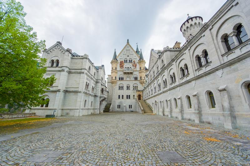 Castillo de Neuschwanstein imágenes de archivo libres de regalías