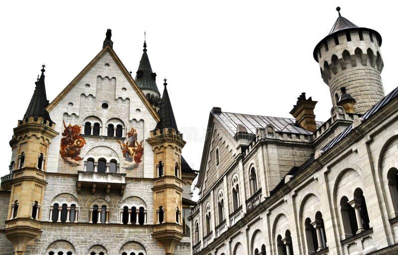Castillo de Neuschwanstein, Schwangau, Alemania fotos de archivo