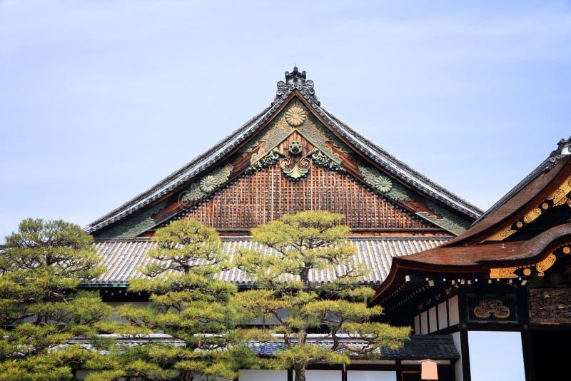 Castillo de Nijo, Kyoto fotografía de archivo