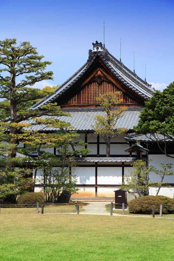 Castillo de Nijo, Kyoto foto de archivo