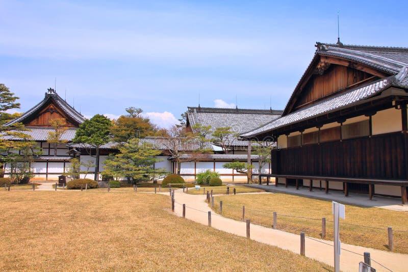 Castillo de Nijo, Kyoto fotografía de archivo libre de regalías