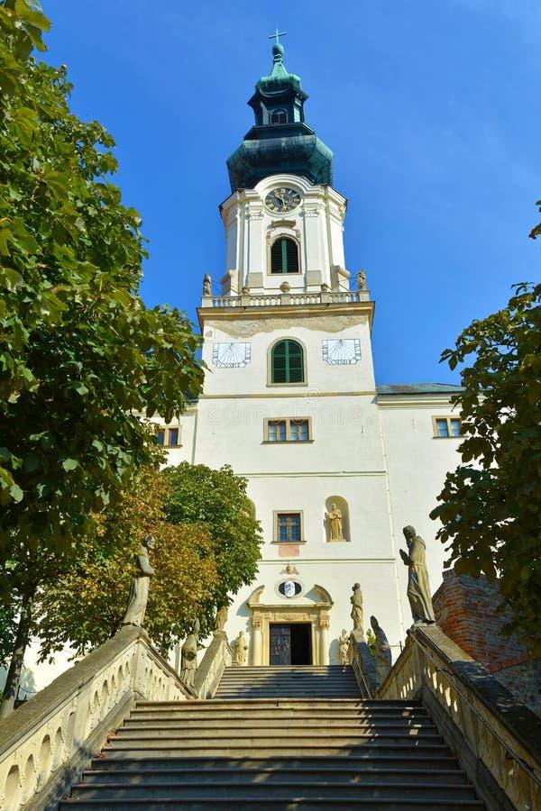 Castillo de Nitra, Eslovaquia Dentro del castillo imágenes de archivo libres de regalías