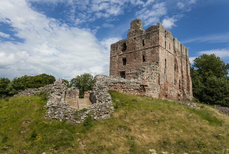 Castillo de Norham fotografía de archivo