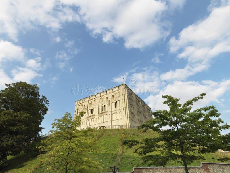 Castillo de Norwich fotografía de archivo libre de regalías