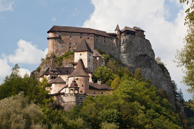 Castillo de Orava fotos de archivo