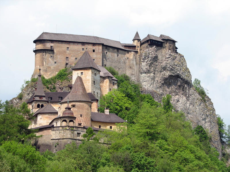 Castillo de Orava fotografía de archivo libre de regalías