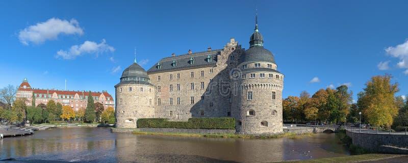 Castillo de Orebro, Suecia imágenes de archivo libres de regalías
