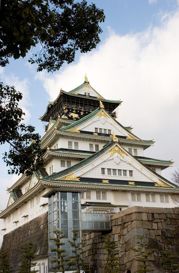 Castillo de Osaka fotografía de archivo