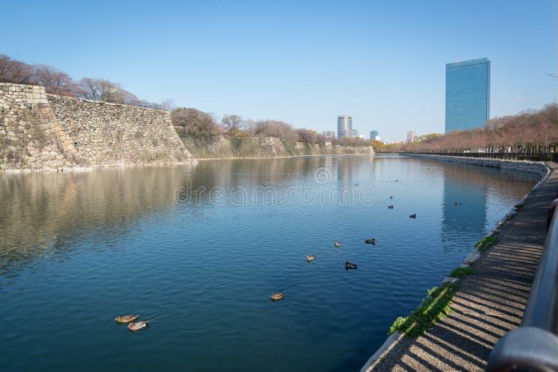 Castillo de Osaka en Matsumoto, Japón imágenes de archivo libres de regalías