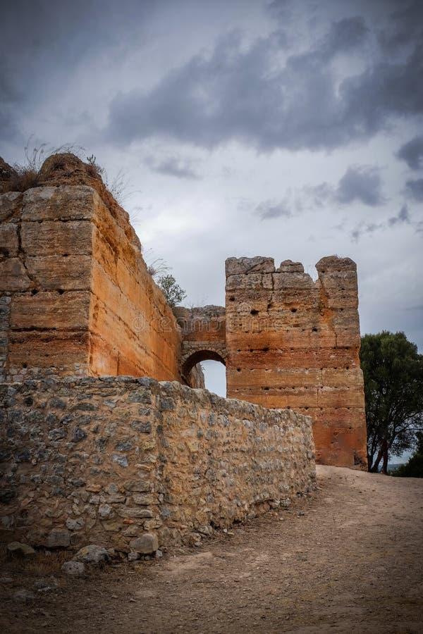 Castillo de Paderne fotos de archivo
