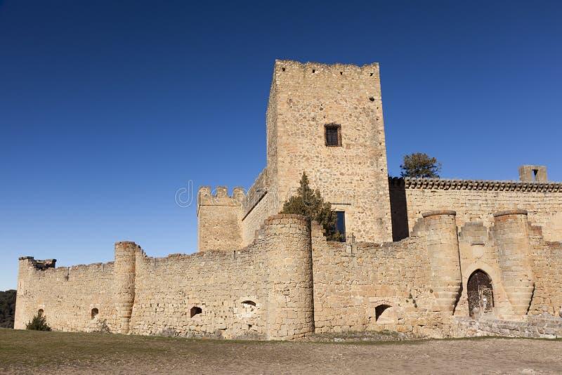 Castillo de Pedraza imagen de archivo libre de regalías