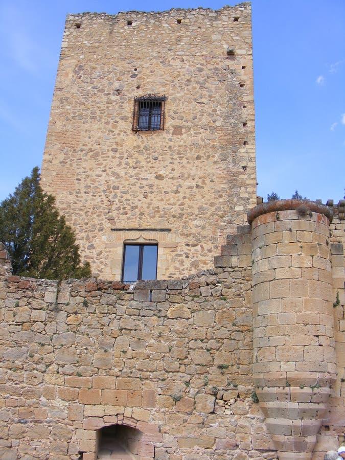 Castillo de Pedraza´s fotos de archivo