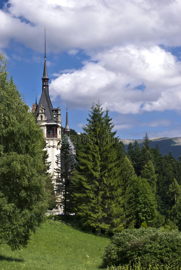 Castillo de Peles, Rumania fotos de archivo libres de regalías