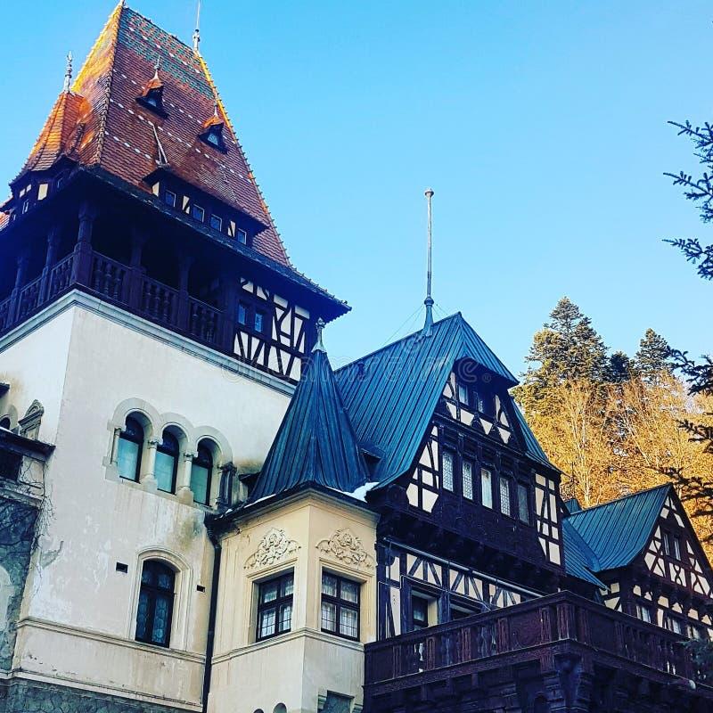 Castillo de Pelisor fotografía de archivo libre de regalías