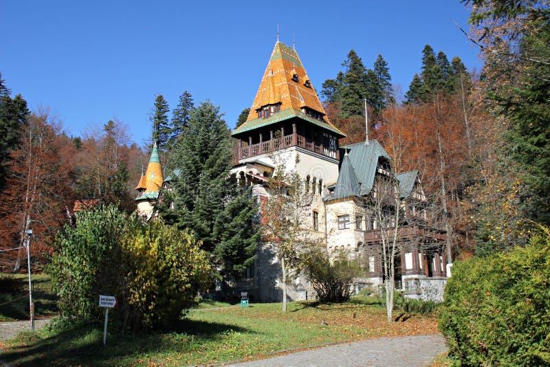 Castillo de Pelisor imagenes de archivo