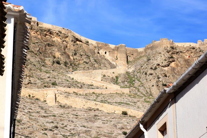 Castillo De Penas De San Pedro, La Mancha, Spain Stock Image