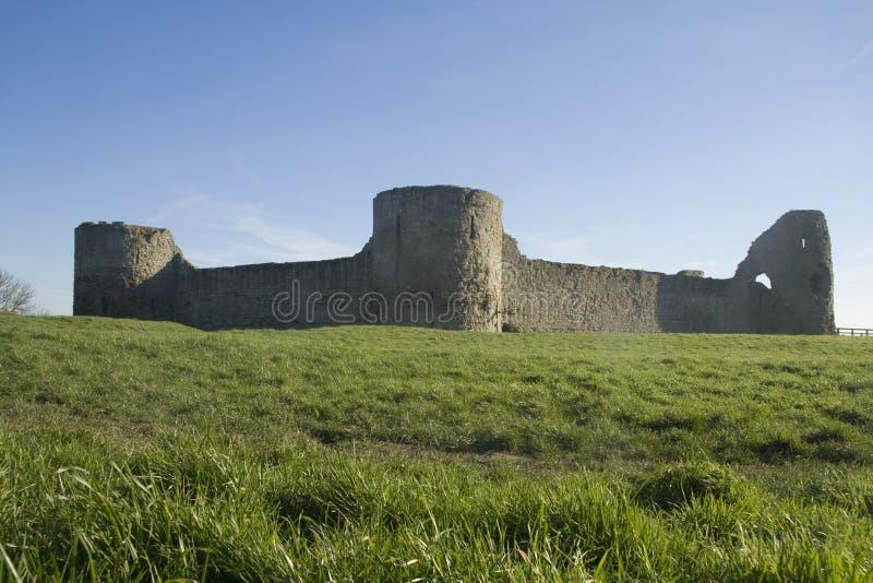 Castillo de Pevensey fotos de archivo libres de regalías
