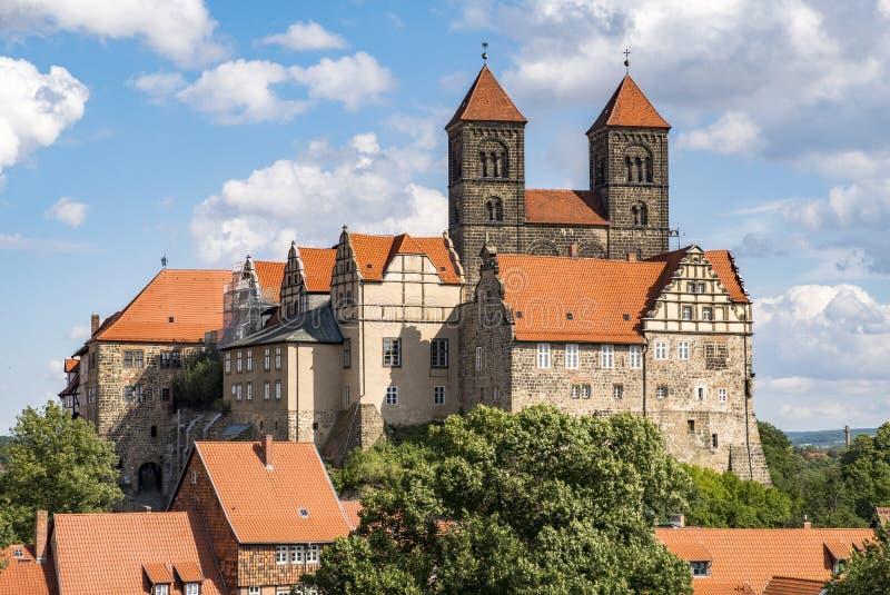 Castillo de Quedlinburg imágenes de archivo libres de regalías