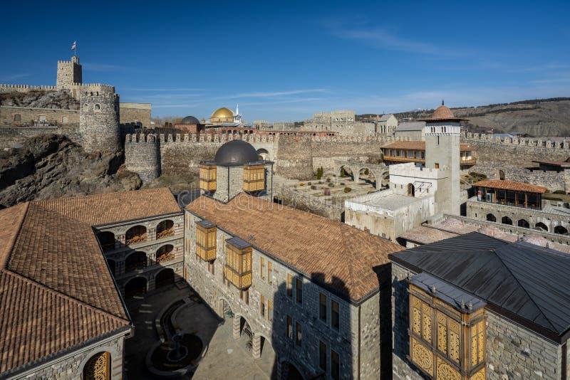 Castillo de Rabati en la ciudad de Akhaltsikhe foto de archivo libre de regalías
