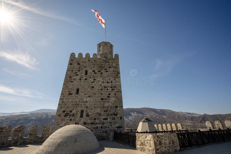 Castillo de Rabati en la ciudad de Akhaltsikhe imágenes de archivo libres de regalías