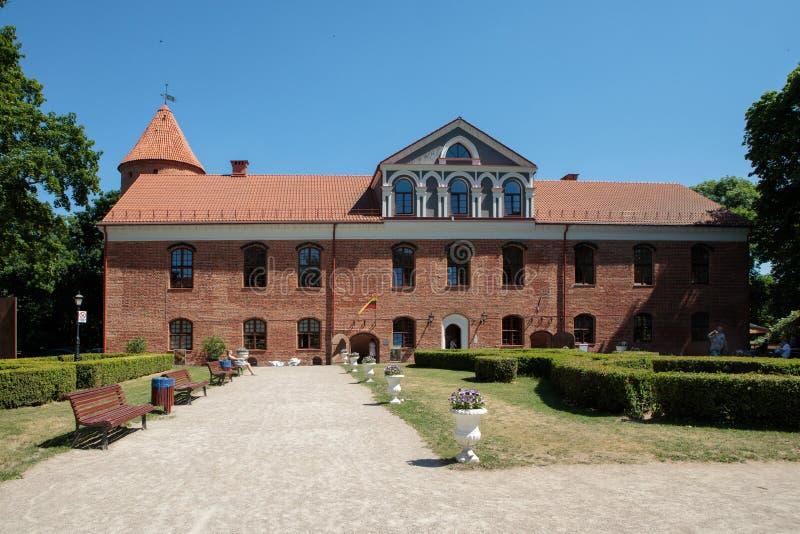 Castillo de Raudondvaris imágenes de archivo libres de regalías