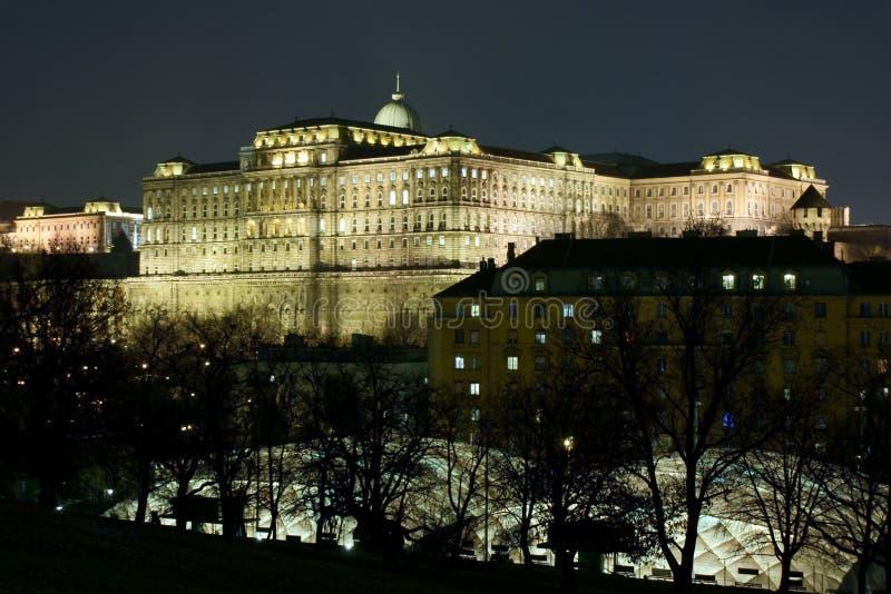 Castillo de rey de Budapest fotos de archivo libres de regalías
