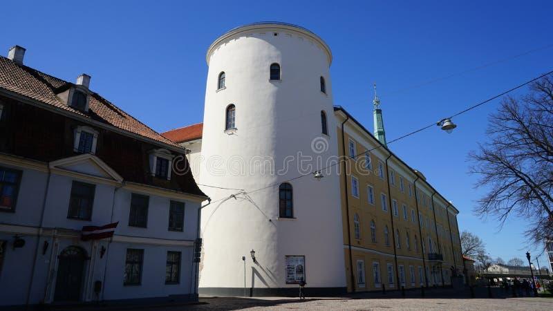 Castillo de Riga foto de archivo libre de regalías