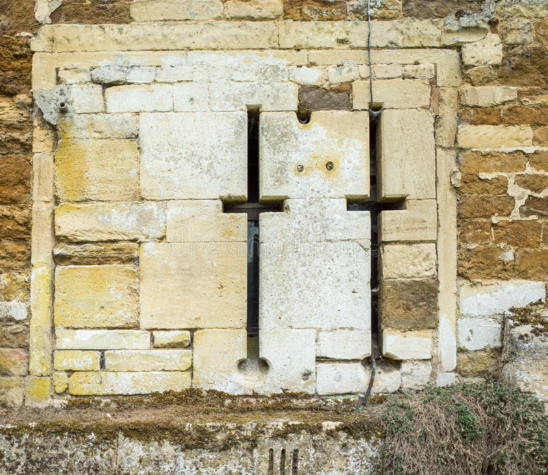 Castillo de Rockingham imagen de archivo