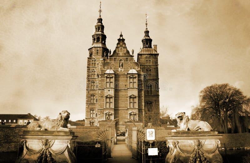 Castillo de Rosenborg imágenes de archivo libres de regalías