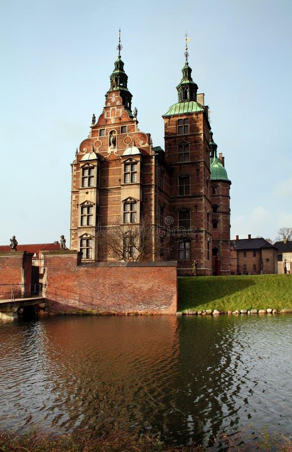 Castillo de Rosenborg foto de archivo