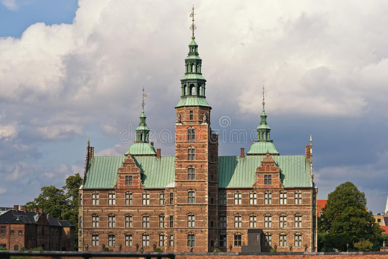 Castillo de Rosenborg fotos de archivo