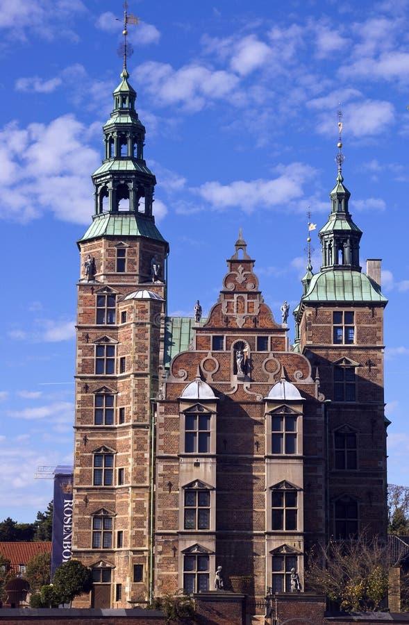 Castillo de Rosenborg, Copenhague fotografía de archivo libre de regalías
