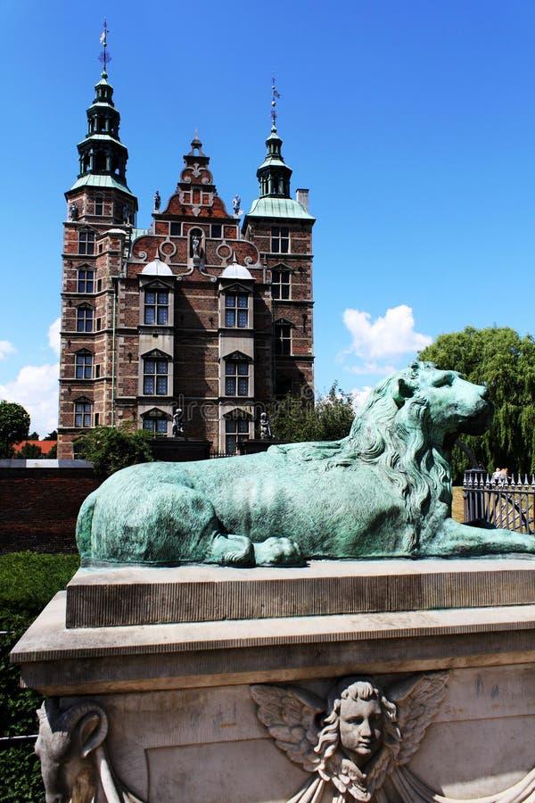 Castillo de Rosenborg en Copenhague, Dinamarca imagen de archivo libre de regalías