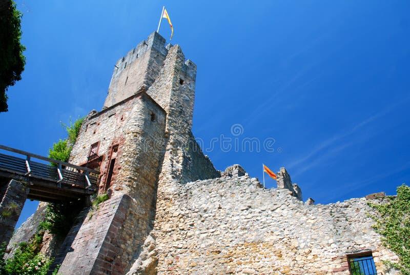 Castillo de Rotteln, Alemania foto de archivo libre de regalías