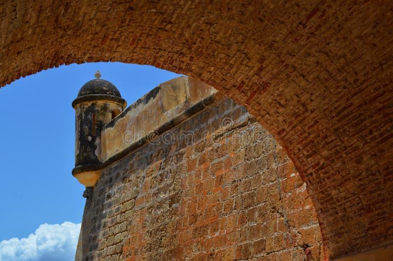 Castillo DE San Antonio de la Eminencia royalty-vrije stock afbeeldingen