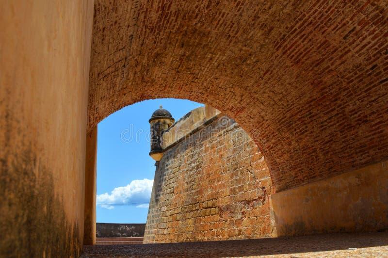 Castillo DE San Antonio de la Eminencia royalty-vrije stock afbeelding