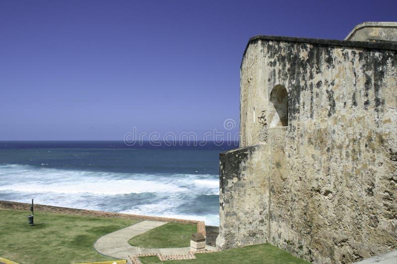 Castillo de San Cristobal, Porto Rico fotografie stock libere da diritti