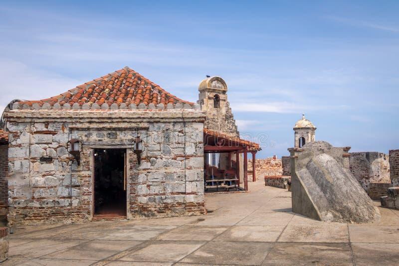 Castillo DE San Felipe - Cartagena, Colombia royalty-vrije stock foto