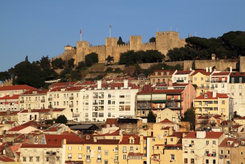 Castillo de San Jorge imagen de archivo