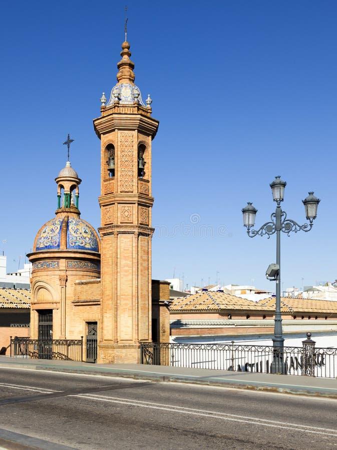 Castillo de San Jorge Museum, Sevilla stockfotografie