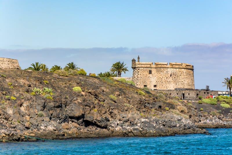 Castillo de San Jose, Castle του San Jose, Arrecife, Lanzarote, Ισπανία στοκ φωτογραφία με δικαίωμα ελεύθερης χρήσης