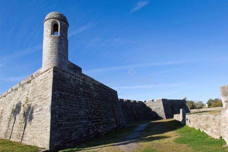 Castillo de San Marcos fotografia stock libera da diritti