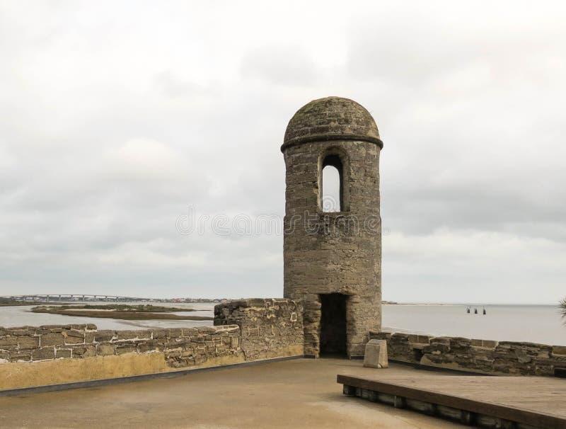 Castillo DE San Marcos stock foto