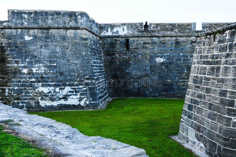 Castillo De San Marcos dans St Augustine Florida image libre de droits