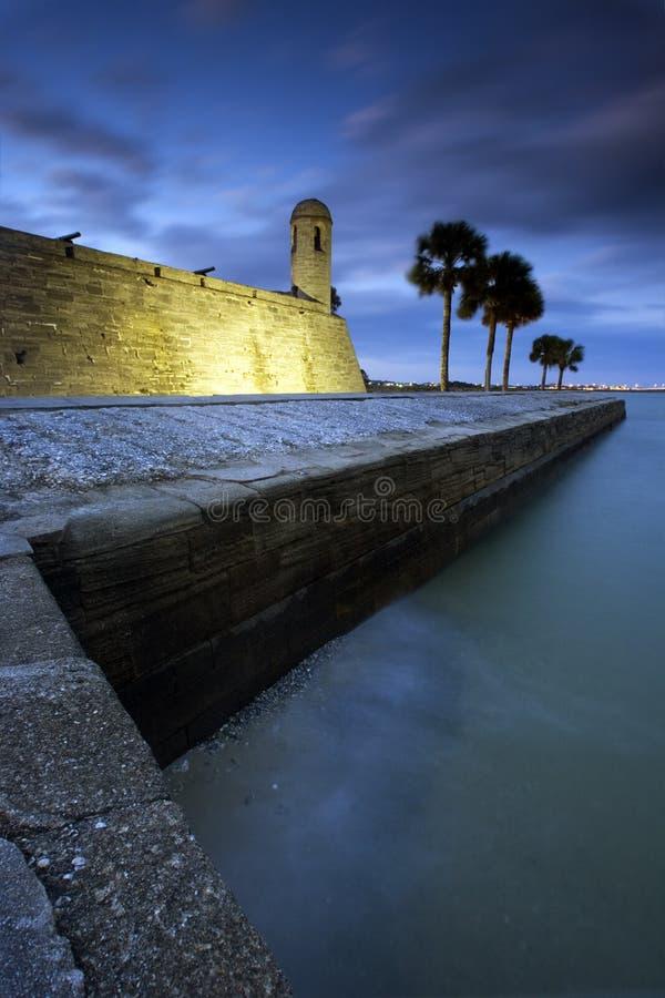 Castillo de San Marcos in st Augustine, Florida. immagine stock libera da diritti