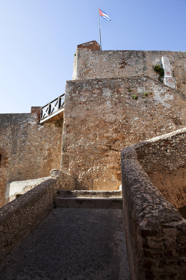 Castillo de San Pedro de la Roca del Morro in Santiago de Cuba - Kuba stockfoto